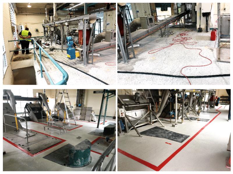RhinoChem for Waste Water Plant flooring