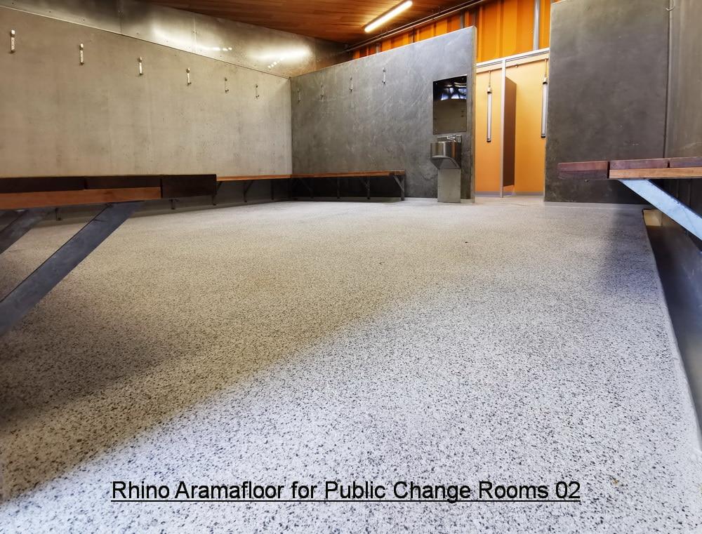 Aramafloor 500 for Public Change Rooms