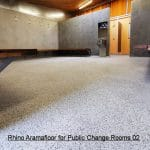 Rhino Aramafloor 500 for Public Change Rooms