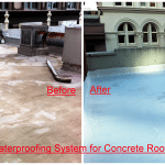 Rhino waterproofing System for concrete roof top deck